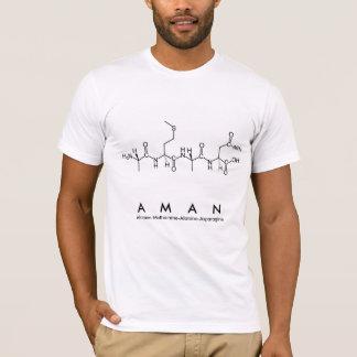 Aman-Peptidnamen-Shirt M T-Shirt