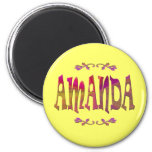 Amanda-Magnet Kühlschrankmagnet