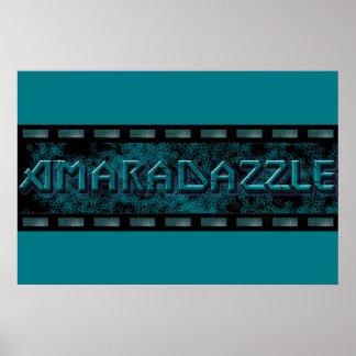AmaraDazzle Logo-Plakat Poster