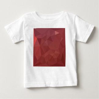 Amarant-lila abstrakter niedriger baby t-shirt