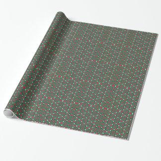 Amaryllis-WeihnachtsPackpapier Geschenkpapier