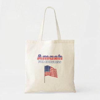 Amash für Kongress-patriotische amerikanische Flag Einkaufstasche