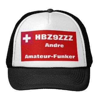 Amateur-Radio-Hut für Schweizer Amateure Retrokultcap