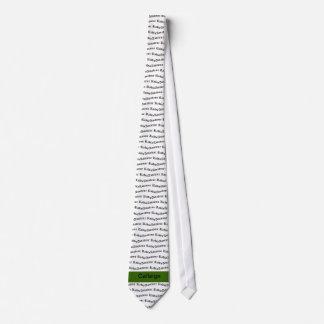 Amateurradio und grünes Rufzeichen Krawatte