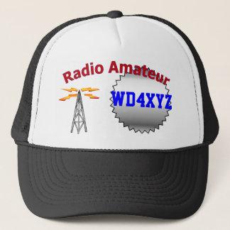 Amateurradiohut Truckerkappe