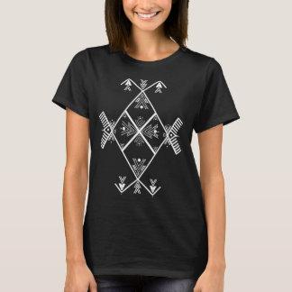 Amazigh Kunst-grundlegende T-Shirt Mädchen