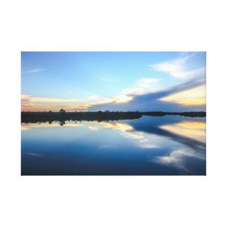 Amazon Landscape Leinwanddruck