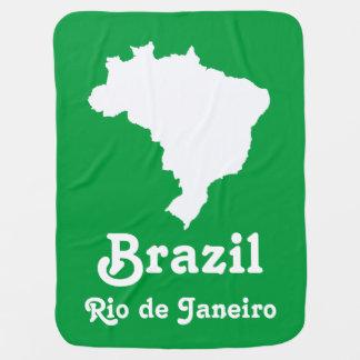 Amazonisches grünes festliches Brasilien mit Kinderwagendecke