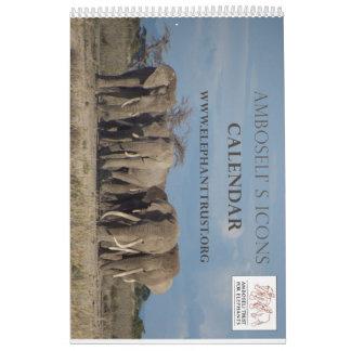 Amboseli Ikonen-Kalender Kalender