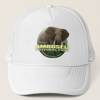 Amboseli NP (afrikanischer Elefant) GEWICHT Truckerkappe