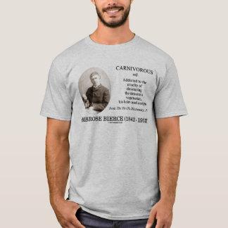 Ambrose Bierce Fleisch fressend das Wörterbuch des T-Shirt