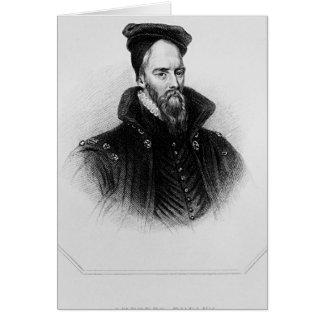 Ambrose Dudley 'von den Briten des Häuschens Karte
