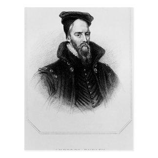 Ambrose Dudley 'von den Briten des Häuschens Postkarte
