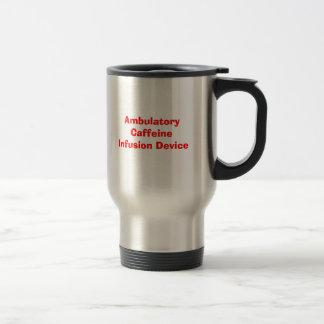 Ambulatorisches Koffein-Infusions-Gerät Reisebecher