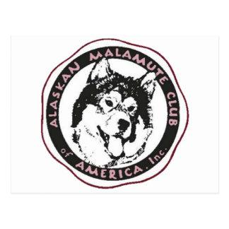 AMCA Logo Postkarte