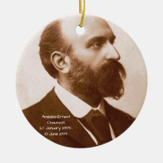 Amedee-Ernst Chausson Keramik Ornament