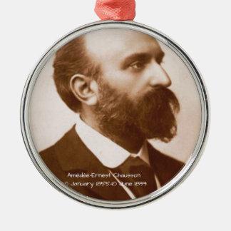 Amedee-Ernst Chausson Silbernes Ornament