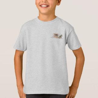 Ameise, die Heuschrecke auf seiner Weise sendet T-Shirt
