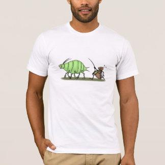 Ameise Hearding Blattlaus T-Shirt