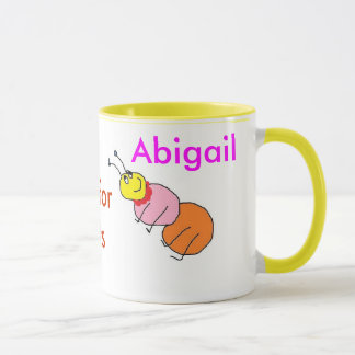 Ameisen-Alphabet-Tasse. Tasse