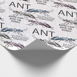 Ameisen-Insekten-Wanzen Geschenkpapier