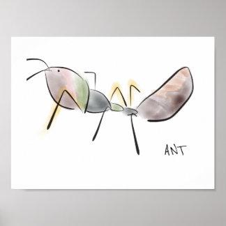 Ameisen-Plakat II Poster