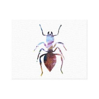 Ameisenkunst Leinwanddruck