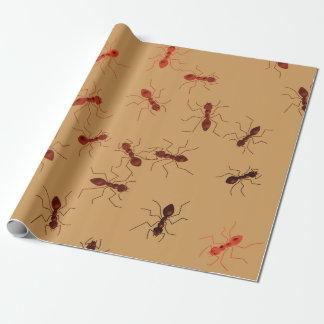 Ameisenmätzchen Geschenkpapier