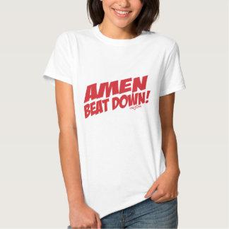 AMEN Beatdown R Shirts