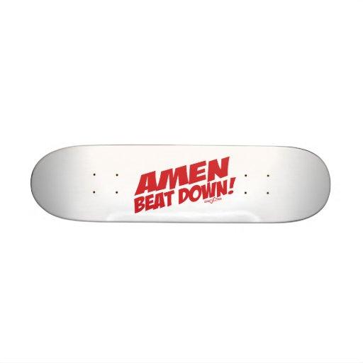 Amen Beatdownplattform Skate Board