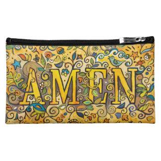 Amen! Dekorative mittlere Tasche