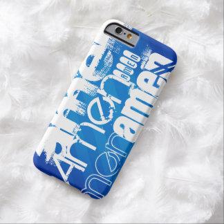 Amen; Königsblau-Streifen Barely There iPhone 6 Hülle