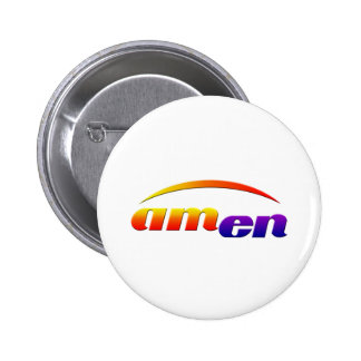 amen runder button 5,1 cm