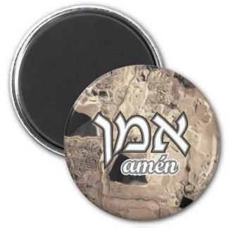 Amen Runder Magnet 5,1 Cm