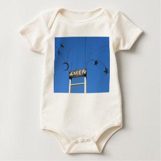 Amen Säuglings-Kleidung Baby Strampler