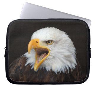 AMERICAN EAGLE ~ Foto Jean-Louis Glineur Laptop Sleeve
