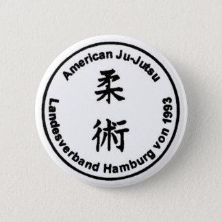 American Ju-Jutsu Landesverband Hamburg von 1993 Runder Button 5,1 Cm