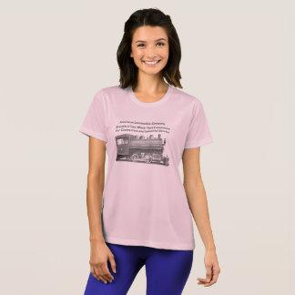 American Locomotive Company 0-4-0 t-Frauen T-Shirt