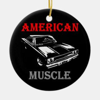 American Muscle - Plymouth Road Runner Keramik Ornament