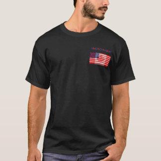 AMERICANADIAN schwarzes T-Shirt