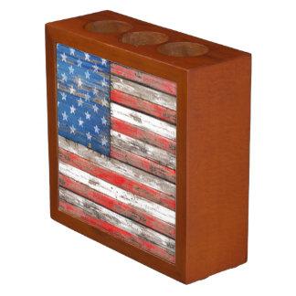 Americanaflagge Stifthalter