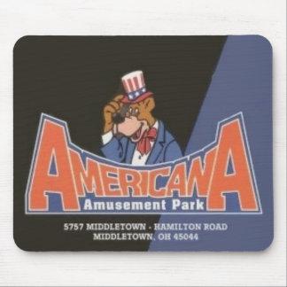 AmericanaLesourdesville Vergnügungspark Monroe OH- Mousepad