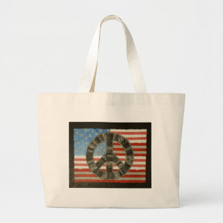 AmericanPeace Taschen-Tasche Jumbo Stoffbeutel