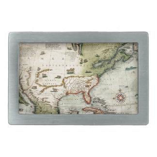 Amerika 1610 rechteckige gürtelschnalle