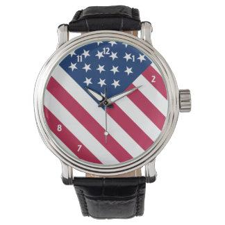Amerika Armbanduhr