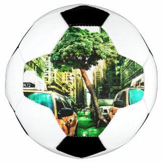 Amerika-Art des Taxi-Entwurfs Vintag Fußball