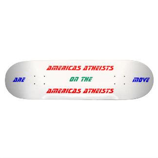 Amerika-Atheisten sind in Bewegung Skateboard Brett