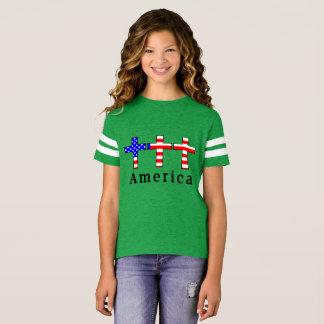 Amerika-Christentum! GRÜNES ATHLETISCHES T-Shirt