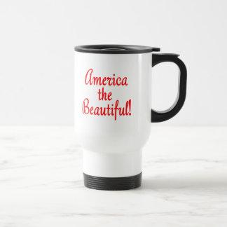Amerika das schöne!  Kleider-und Zellen-Hüllen Reisebecher