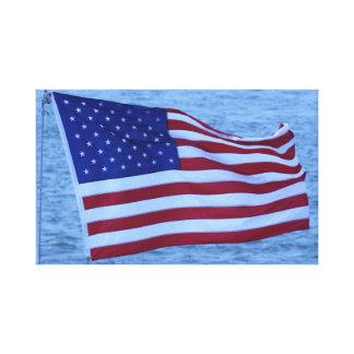 Amerika das schöne! leinwanddruck